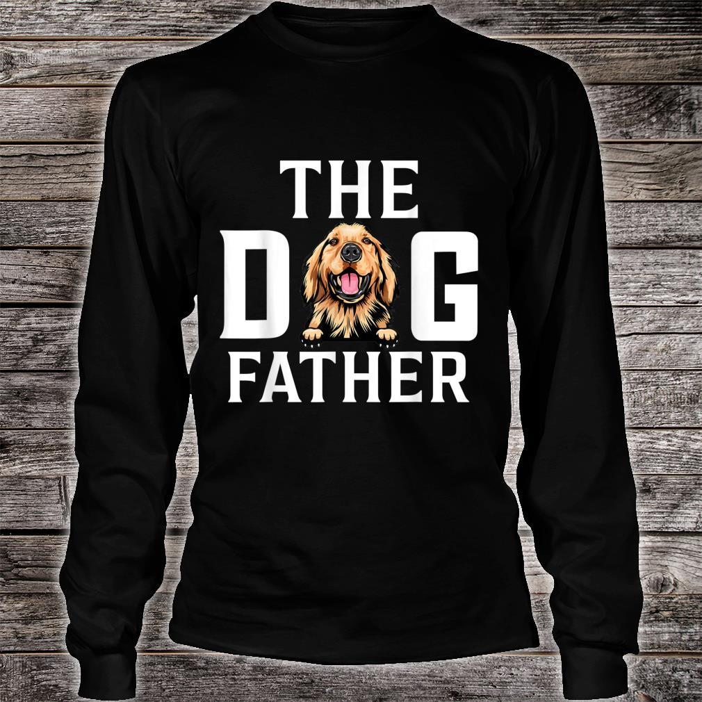 The Dogfather Basset hound Dog Owner Father Day Shirt long sleeved