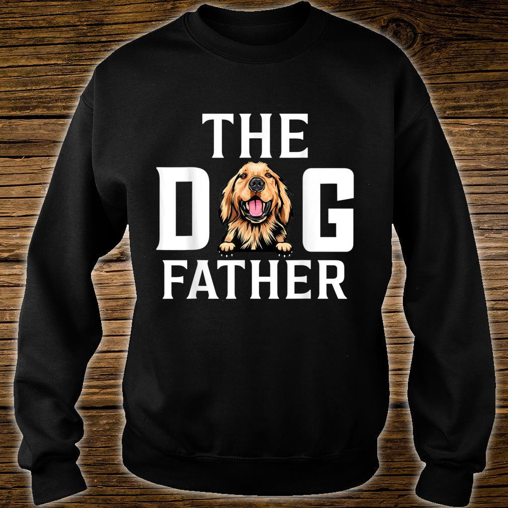 The Dogfather Basset hound Dog Owner Father Day Shirt sweater