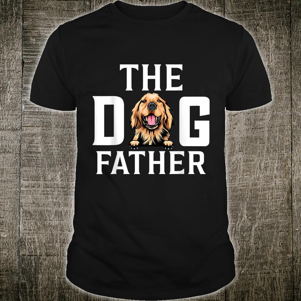 The Dogfather Basset hound Dog Owner Father Day Shirt